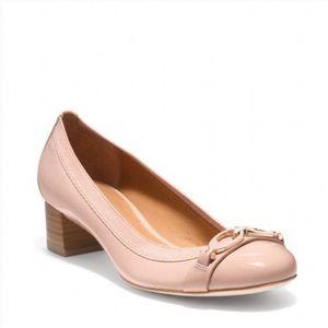 Coach Pink Tandy Round Toe Block Heel Size 8.5